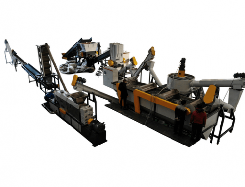PP PE Recycling Pelletizing Line