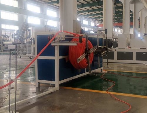 Single Wall Corrugated Pipe Making Machine