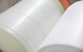 Melt-blown cloth