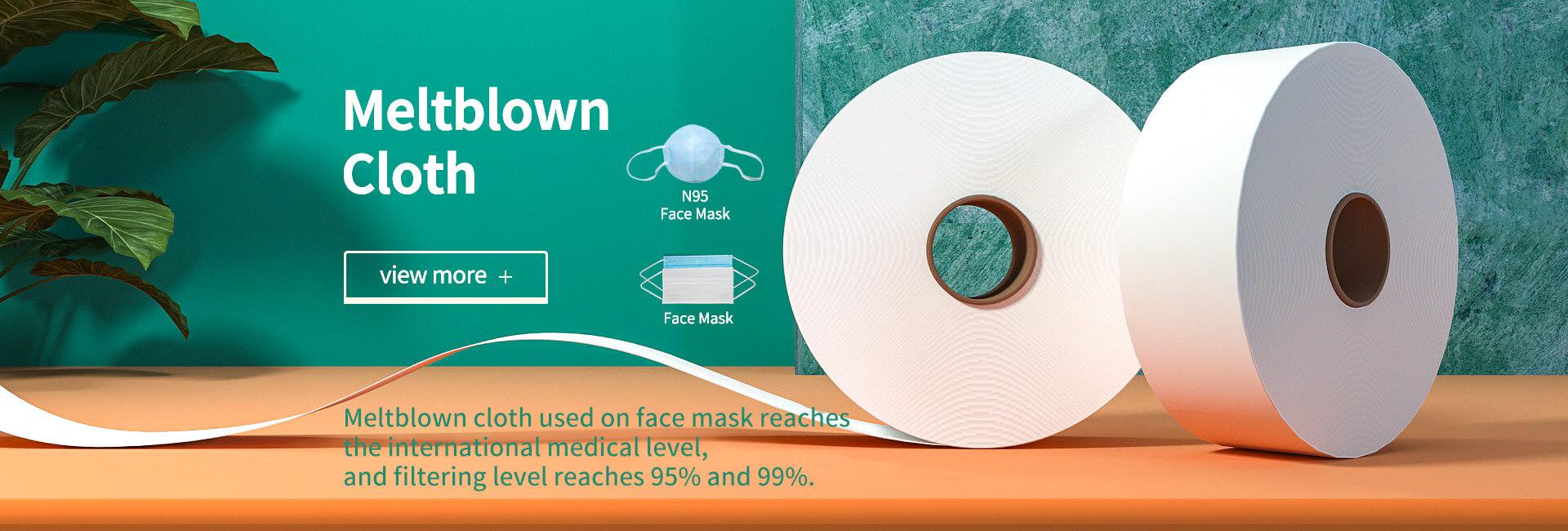 Meltblown cloth